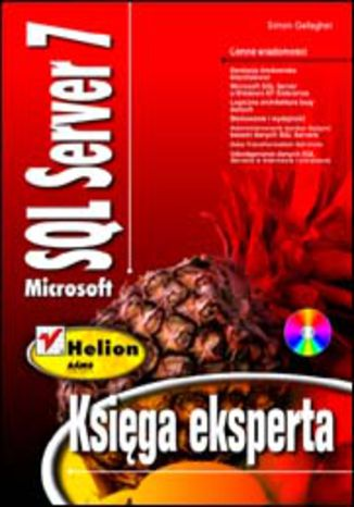 Okładka książki/ebooka Microsoft SQL Server 7. Księga Eksperta