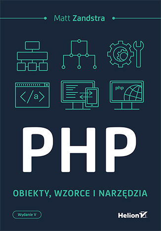Okładka książki/ebooka PHP. Obiekty, wzorce, narzędzia. Wydanie V