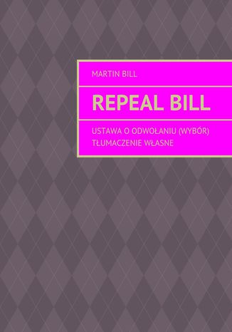 Okładka książki/ebooka Repealbill