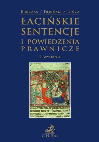 Okładka książki/ebooka Łacińskie sentencje i powiedzenia prawnicze