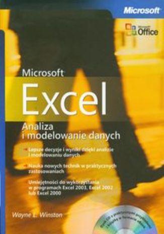 Okładka książki Microsoft Excel. Analiza i modelowanie danych + płyta CD