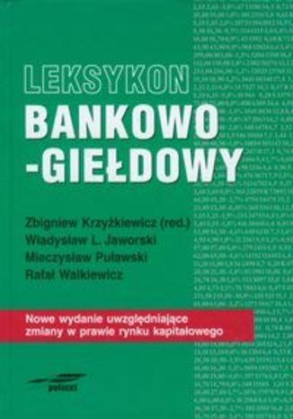 Leksykon bankowo-giełdowy