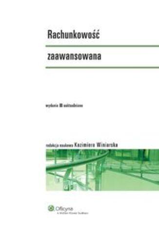 Okładka książki/ebooka Rachunkowość zaawansowana