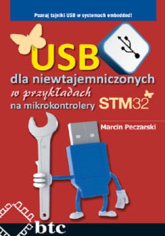 Okładka książki USB dla niewtajemniczonych w przykładach na mikrokontrolery STM32