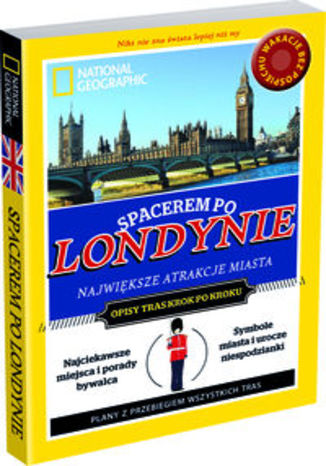 Spacerem po Londynie. Przewodnik National Geographic