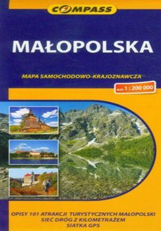 Małopolska. Mapa samochodowo-krajoznawcza Compass 1:200 000