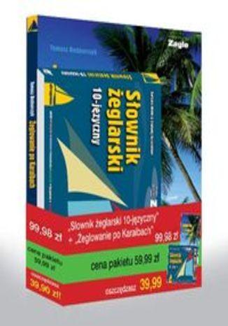 Słownik żeglarski 10-języczny / Żeglowanie po Karaibach - Pakiet