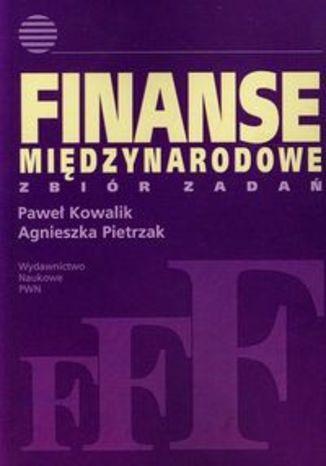 Okładka książki Finanse międzynarodowe Zbiór zadań