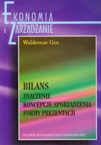 Okładka książki/ebooka Bilans