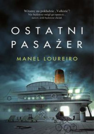 Okładka książki Ostatni pasażer