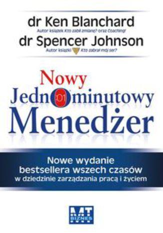 Okładka książki/ebooka Nowy Jednominutowy Menedżer