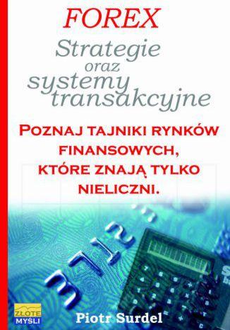 Okładka książki/ebooka Forex 3. Strategie i systemy transakcyjne