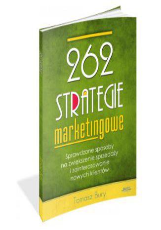 Okładka książki/ebooka 262 strategie marketingowe