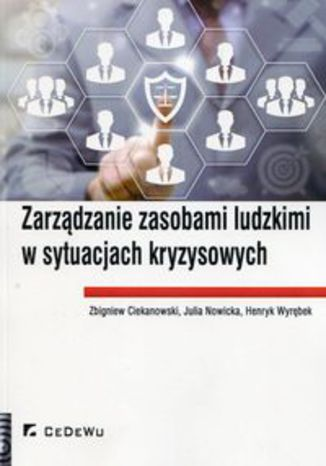 Okładka książki Zarządzanie zasobami ludzkimi w sytuacjach kryzysowych