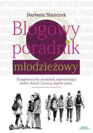 Okładka książki/ebooka Blogowy poradnik młodzieżowy