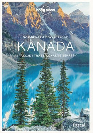 Okładka książki Kanada Przewodnik Lonely Planet