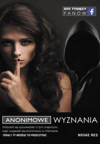 Okładka książki Anonimowe Wyznania