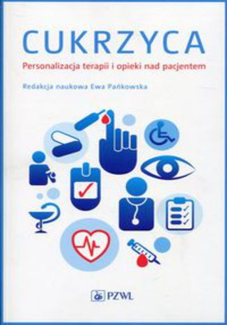 Okładka książki Cukrzyca Personalizacja terapii i opieki nad pacjentem