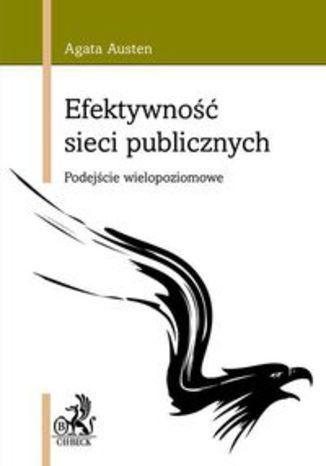Okładka książki Efektywność sieci publicznych. Podejście wielopoziomowe