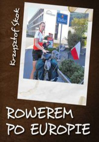 Okładka książki Rowerem po Europie