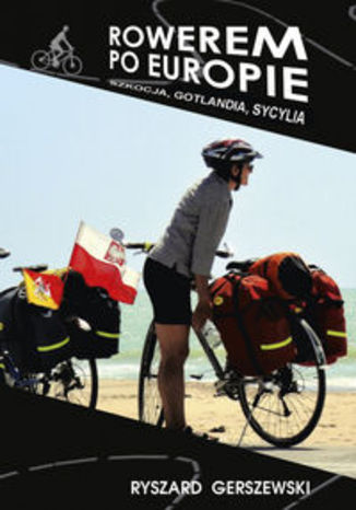 Okładka książki/ebooka Rowerem po Europie. Szkocja, Gotlandia, Sycylia
