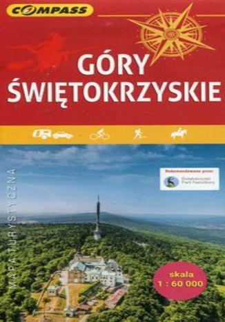 Okładka książki Góry Świętokrzyskie mapa turystyczna 1:60 000