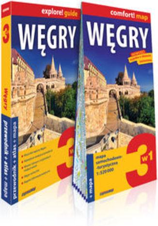 Okładka książki Węgry explore! guide. 3w1: przewodnik + atlas + mapa