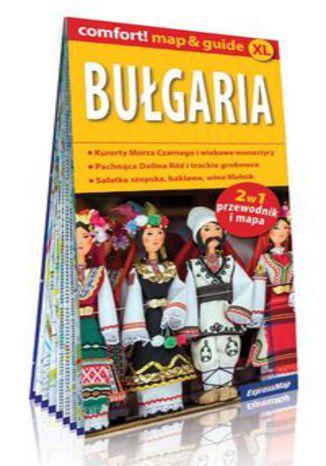 Okładka książki Bułgaria comfort! map&guide XL. 2w1: przewodnik i mapa