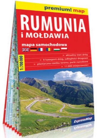 Okładka książki/ebooka Rumunia i Mołdawia mapa samochodowa 1:700 000