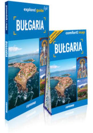 Okładka książki/ebooka Bułgaria 2w1: przewodnik light + mapa. explore guide! light