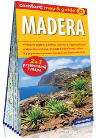 Okładka książki/ebooka Madera laminowany map&guide XL 2w1: przewodnik i mapa