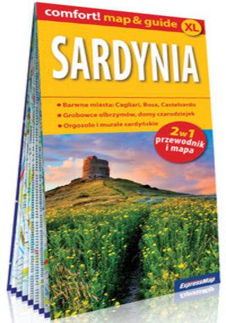 Okładka książki/ebooka Sardynia laminowany map&guide (2w1: przewodnik i mapa)