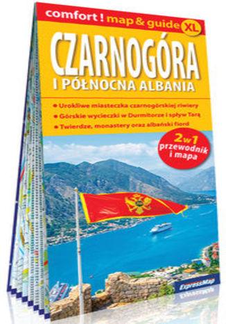 Okładka książki/ebooka Czarnogóra i północna Albania laminowany map&guide XL 2w1: przewodnik i mapa