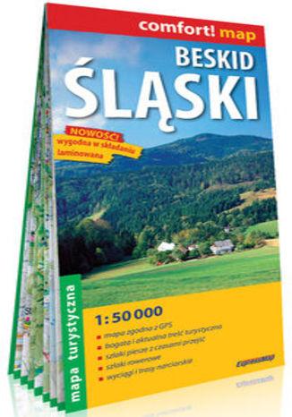 Okładka książki/ebooka Beskid Śląski laminowana mapa turystyczna 1:50 000