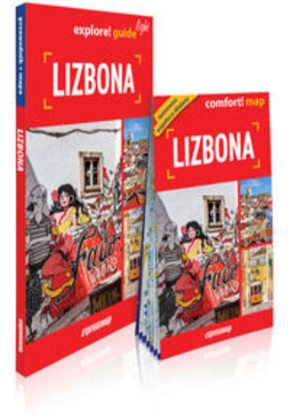 Okładka książki Lizbona light przewodnik + mapa. explore guide! light