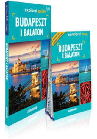 Okładka książki Budapeszt i Balaton light przewodnik + mapa