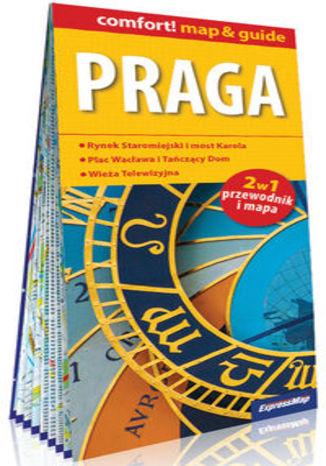 Okładka książki Praga 2w1 przewodnik i mapa