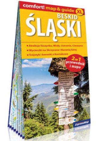 Okładka książki: Beskid Śląski 2w1 przewodnik i mapa