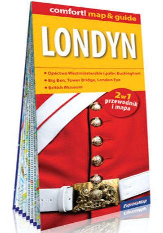 Okładka książki Londyn 2w1 przewodnik i mapa