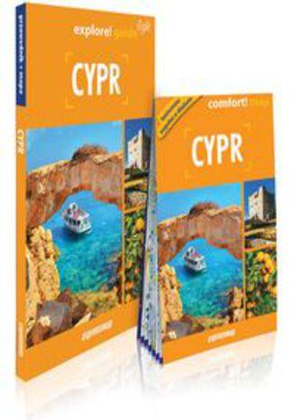 Okładka książki/ebooka Cypr light przewodnik + mapa