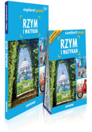 Okładka książki/ebooka Rzym i Watykan light: przewodnik + mapa