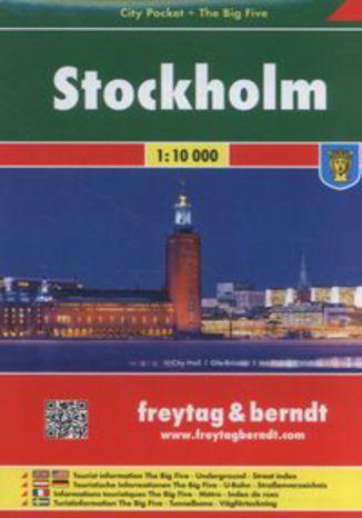 Okładka książki/ebooka Stockholm 1:10 000