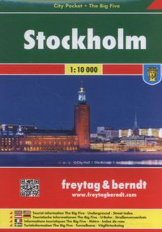 Okładka książki Stockholm 1:10 000
