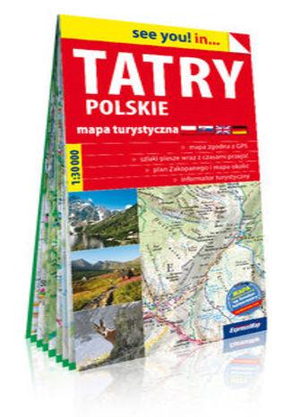Okładka książki Tatry polskie mapa turystyczna  1:30 000