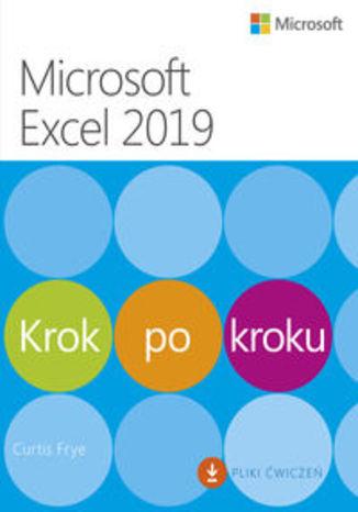 Okładka książki/ebooka Microsoft Excel 2019 Krok po kroku