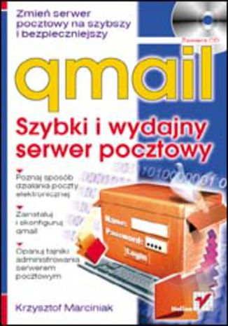 Okładka książki/ebooka qmail. Szybki i wydajny serwer pocztowy