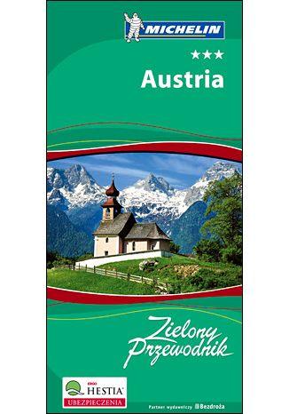 Okładka książki/ebooka Austria. Zielony Przewodnik Michelin. Wydanie 1