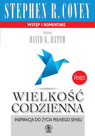 Okładka książki/ebooka Wielkość codzienna