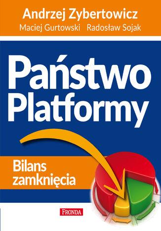 Okładka książki/ebooka Państwo Platformy