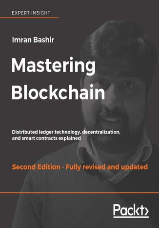 Okładka książki/ebooka Mastering Blockchain